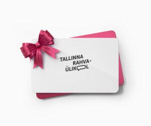 Kingi lähedastele võimalus osaleda suurepärastel kursustel! Telli Tallinna Rahvaülikooli kinkekaart paberil või e-postiga!